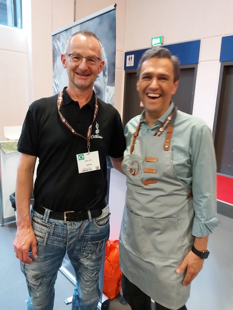 Rechts im Bild einer unserer Kaffeefarmer - Ismael Andrade, Brasilien